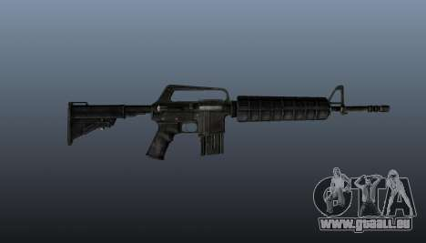 Automatique carabine M4A1 pour GTA 4 troisième écran
