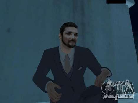 MafiaBoss HD pour GTA San Andreas troisième écran