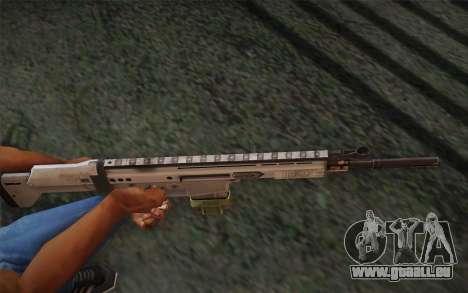 FN Scar pour GTA San Andreas deuxième écran