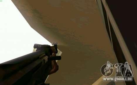 AK-47 pour GTA San Andreas septième écran