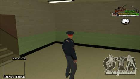 Peaux SAPD Pak pour GTA San Andreas dixième écran