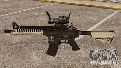 Automatique carabine M4 VLTOR v4 pour GTA 4 troisième écran
