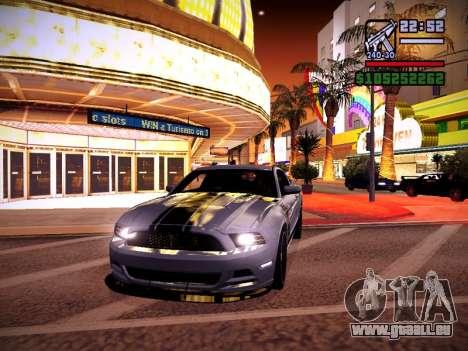 ENB by DjBeast for SA:MP Light Version für GTA San Andreas elften Screenshot