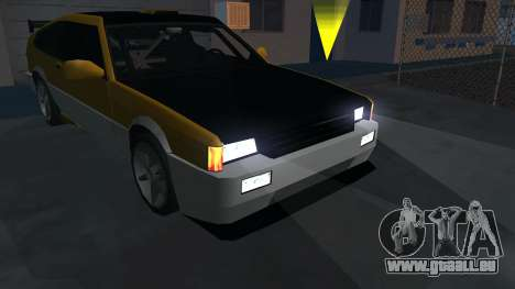 New Blista Compact für GTA San Andreas