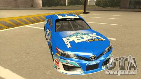 Toyota Camry NASCAR No. 15 Peak pour GTA San Andreas laissé vue