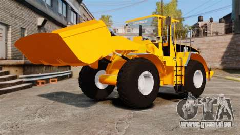 Radlader Caterpillar 966 g VR für GTA 4 Seitenansicht
