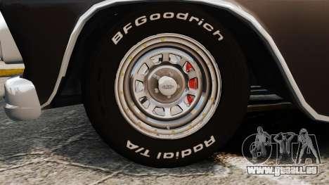 Chevrolet C-10 Stepside v1 pour GTA 4 Vue arrière