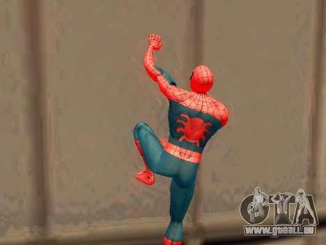 Klettern Sie Wände wie Spider-man für GTA San Andreas dritten Screenshot