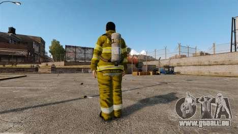 Gelbe Uniformen für Feuerwehrleute für GTA 4 dritte Screenshot