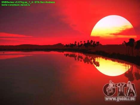 Neues Menü für GTA San Andreas achten Screenshot