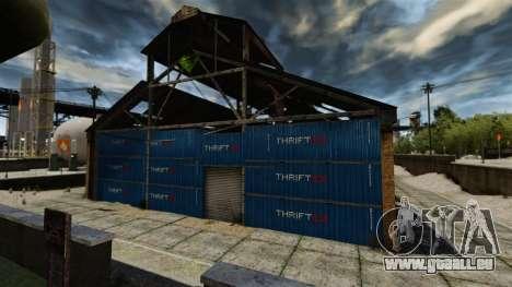 Une base défensive pour GTA 4 troisième écran