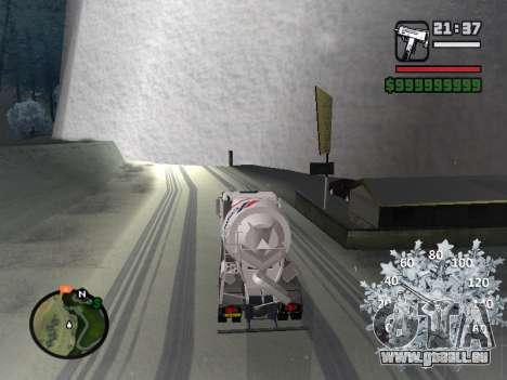 Nouveau compteur de vitesse pour GTA San Andreas cinquième écran