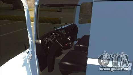 Volkswagen Constellation 19.320 Titan pour GTA San Andreas vue arrière