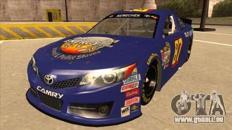 Toyota Camry NASCAR No. 87 AM FM Energy pour GTA San Andreas
