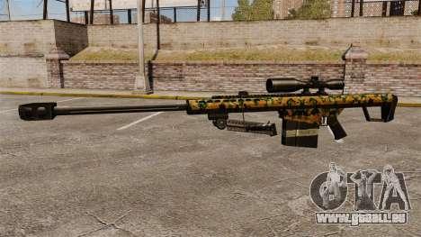 Das Barrett M82 Sniper Gewehr v13 für GTA 4 dritte Screenshot