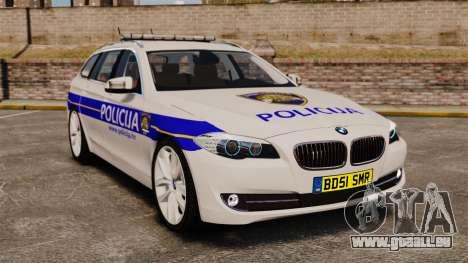 BMW M5 Touring Croatian Police [ELS] pour GTA 4