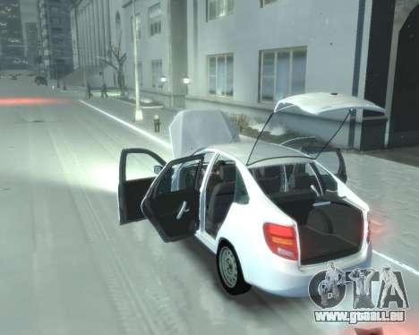 Lada Granta Hatch - VAZ 2191 für GTA 4 rechte Ansicht