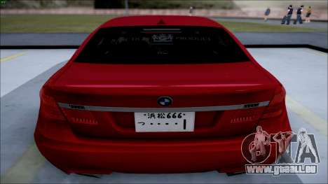 BMW 750 Li Vip Style für GTA San Andreas linke Ansicht