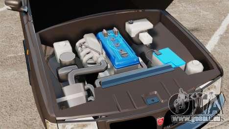 GAZ 3110 Pickup für GTA 4 Innenansicht