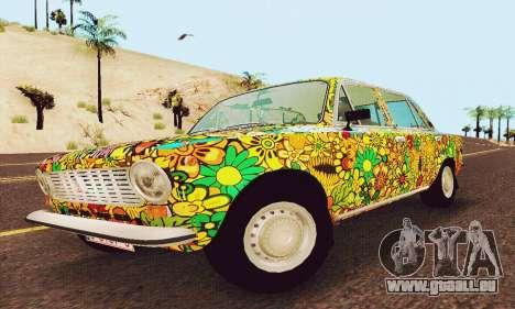 VAZ 21011 Hippie pour GTA San Andreas laissé vue