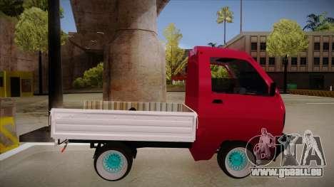 Suzuki Carry Drift Style pour GTA San Andreas sur la vue arrière gauche