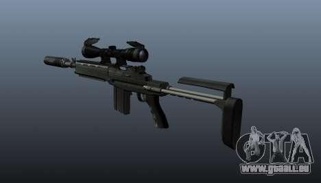 Fusil automatique M14 EBR v1 pour GTA 4 secondes d'écran