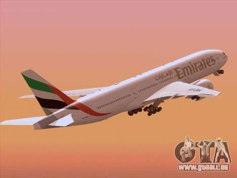 Boeing 777-21HLR Emirates pour GTA San Andreas