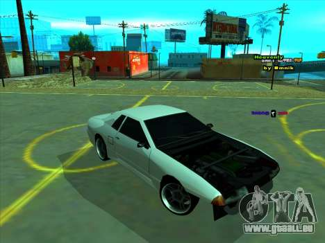 Drift Elegy by zhenya2003 pour GTA San Andreas