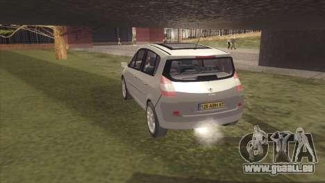 Renault Scenic 2 pour GTA San Andreas laissé vue