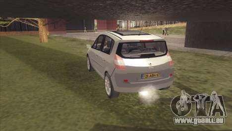 Renault Scenic 2 für GTA San Andreas linke Ansicht