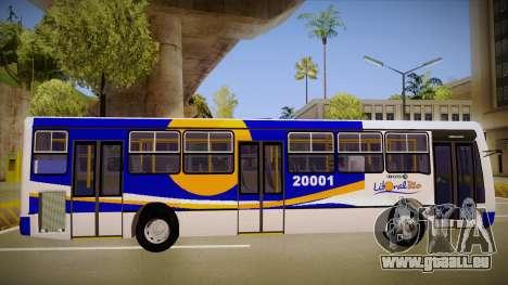 Caio Millenium pour GTA San Andreas sur la vue arrière gauche