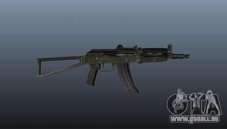 Automatische AKS74U v1 für GTA 4 dritte Screenshot