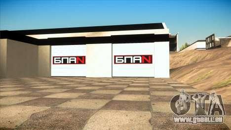 Le garage de Doherty BPAN v1.1 pour GTA San Andreas deuxième écran