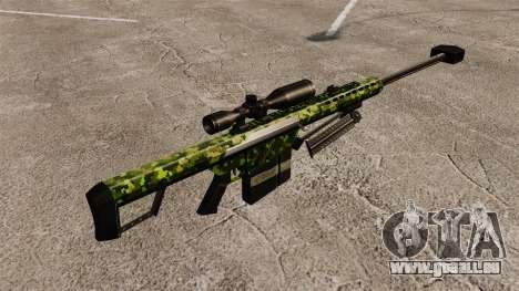Le Barrett M82 sniper rifle v4 pour GTA 4 secondes d'écran