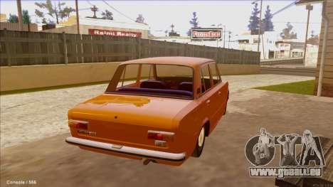 VAZ 21011 Drain für GTA San Andreas rechten Ansicht