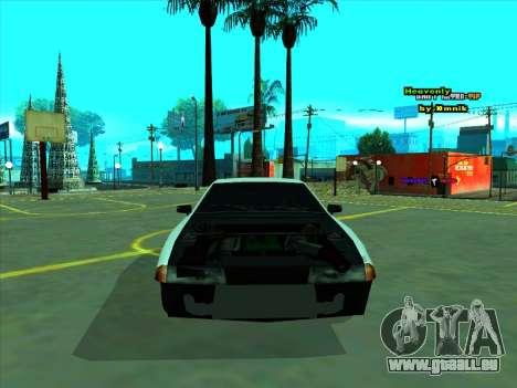 Drift Elegy by zhenya2003 pour GTA San Andreas vue arrière
