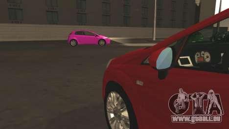 Fiat Grande Punto pour GTA San Andreas
