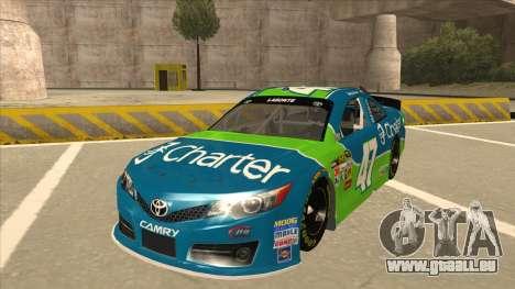 Toyota Camry NASCAR No. 47 Charter pour GTA San Andreas
