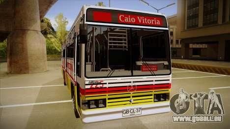 Caio Vitoria MB OF 1318 Metropolitana pour GTA San Andreas sur la vue arrière gauche