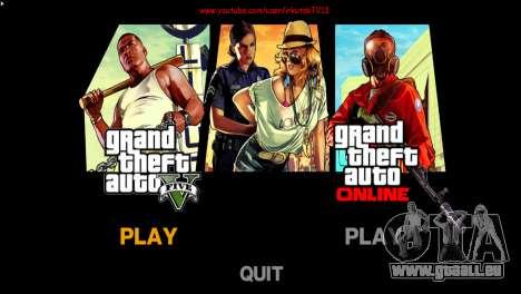 Menu et boot images dans le style de GTA V pour GTA 4 troisième écran