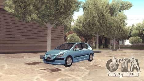 Peugeot 307 pour GTA San Andreas
