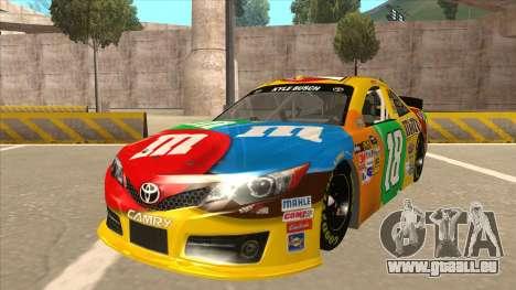 Toyota Camry NASCAR No. 18 MandMs für GTA San Andreas