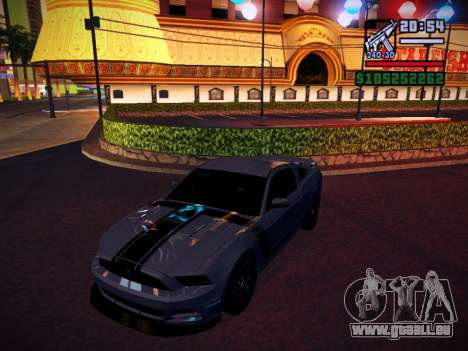 ENB by DjBeast for SA:MP Light Version pour GTA San Andreas huitième écran
