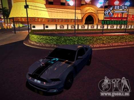 ENB by DjBeast for SA:MP Light Version für GTA San Andreas achten Screenshot