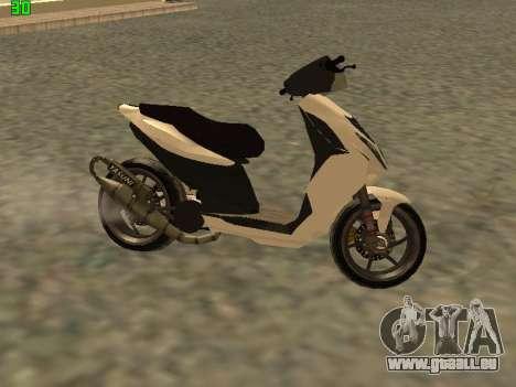 Piaggio NRG für GTA San Andreas