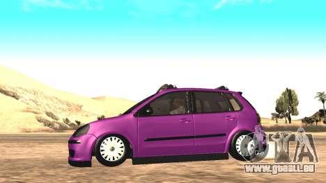 Volkswagen German Polo pour GTA San Andreas vue de droite