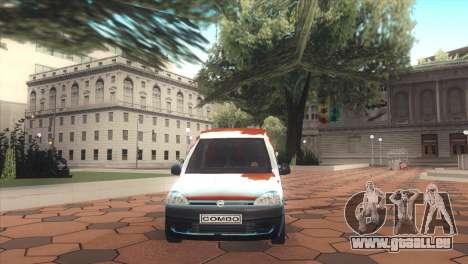 Opel Combo für GTA San Andreas rechten Ansicht