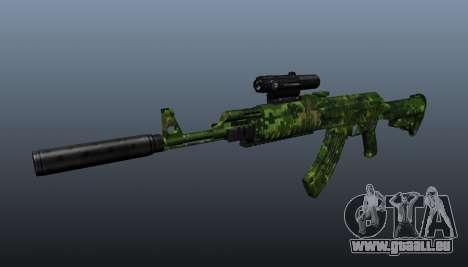 AK-74 en tenue de camouflage pour GTA 4