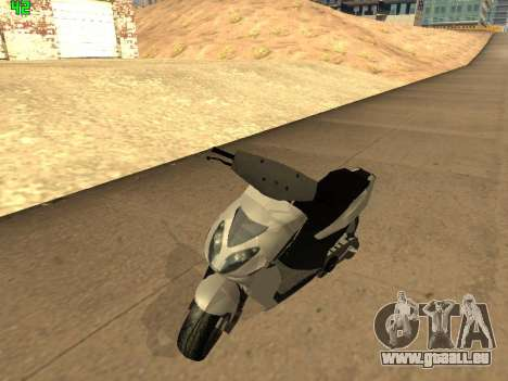 Piaggio NRG für GTA San Andreas linke Ansicht