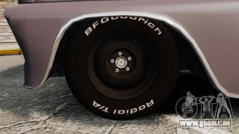 Chevrolet C-10 Stepside v3 für GTA 4 Rückansicht